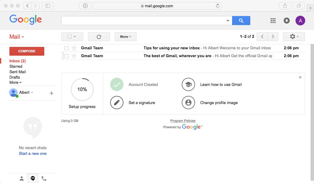 make gmail account login